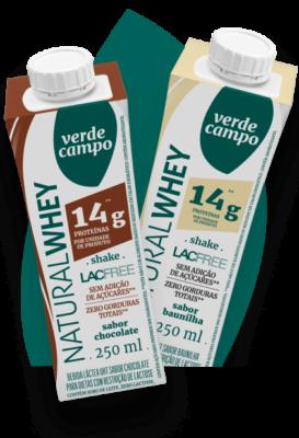 Natural Whey Chocolate e Natural Whey Baunilha